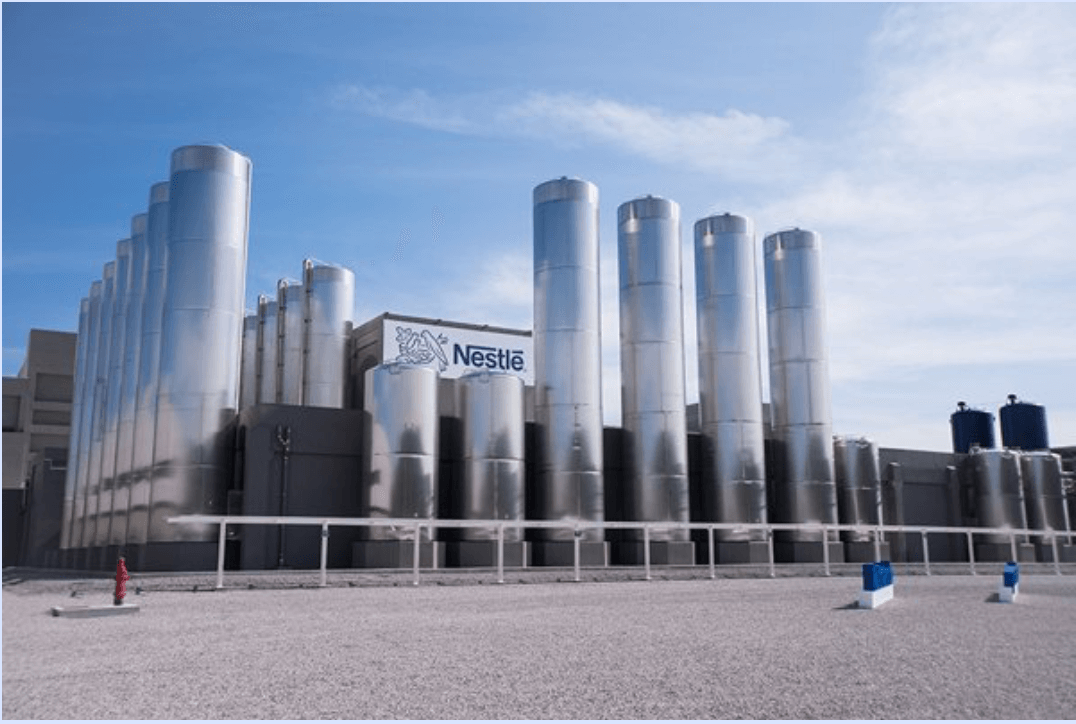 Nestlé Ocotlán, Electric Installation of line of milk