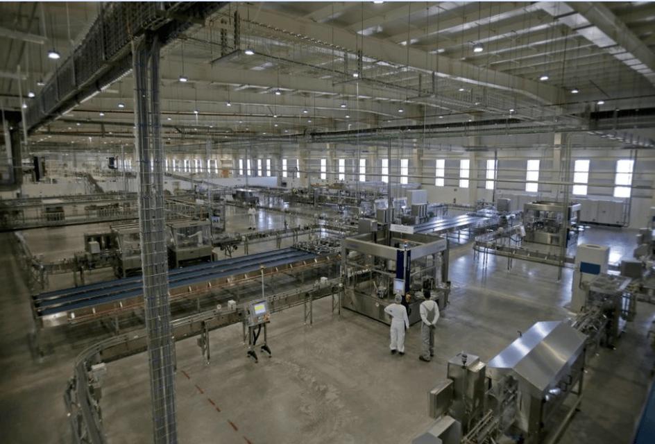 Nestlé Ocotlán, Instalación de línea de leche