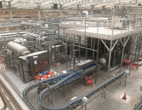 Plant at Aguascalientes grew his production capacity